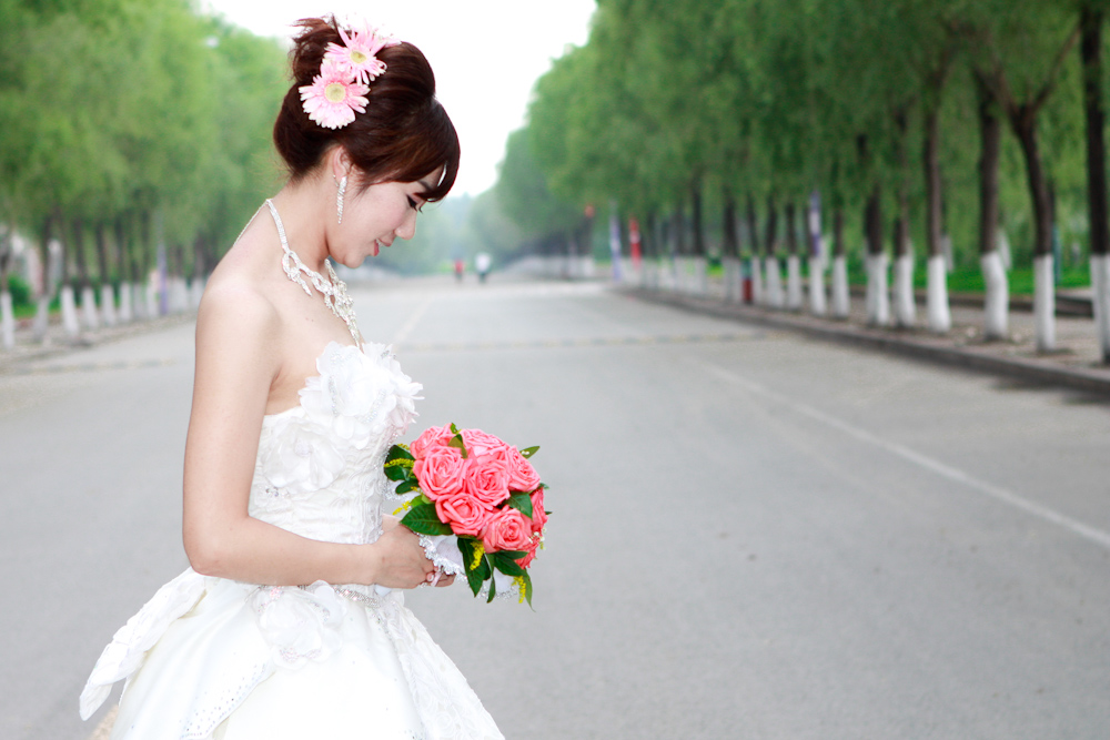 婚礼  摄影 虚化